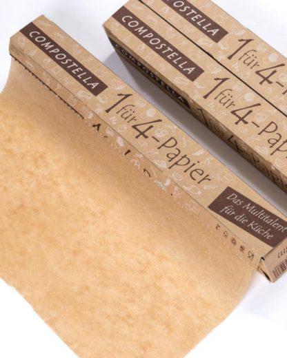Compostella 1fuer4-Papier Haushaltsrolle