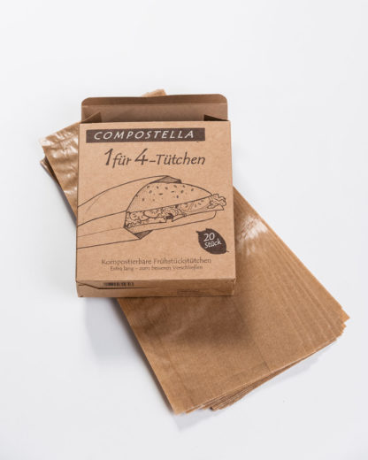 1 for 4 bags of Compostella