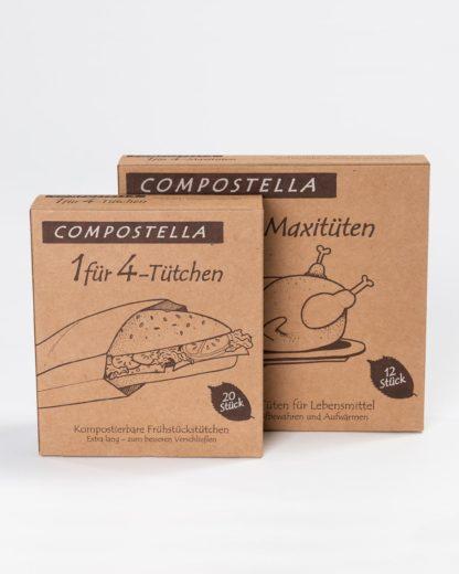 1 für 4-Tüten Compostella