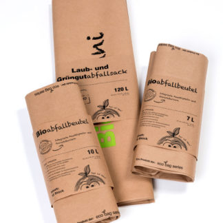 Bio-Tonni bio waste bags from Compostella