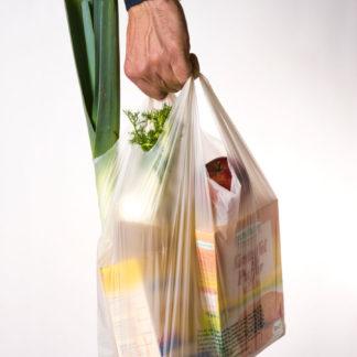 Biokunststoff Einkaufstüte Compostella