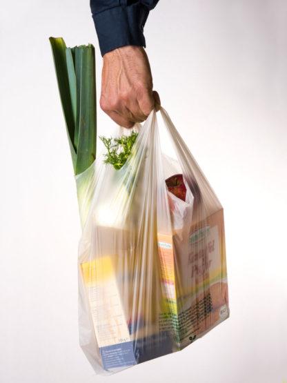 Biokunststoff Einkaustüte Compostella
