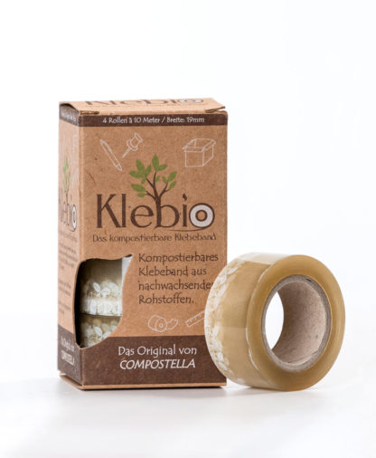 Compostella Klebio adhesive tape 19 mm width