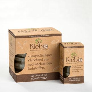 Klebio Klebeband Compostella 19 mm und 50 mm Breite