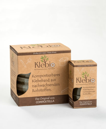 Compostella Klebio adhesive tape 19 mm and 50 mm width