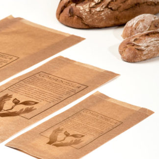 Compostella paper bags in 3 sizes