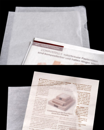 Compostable transparent covers from Compostella