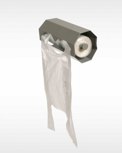 Roll-off holder for wall mounting