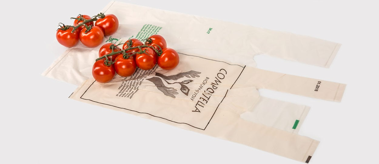 Compostable Shopping Bags