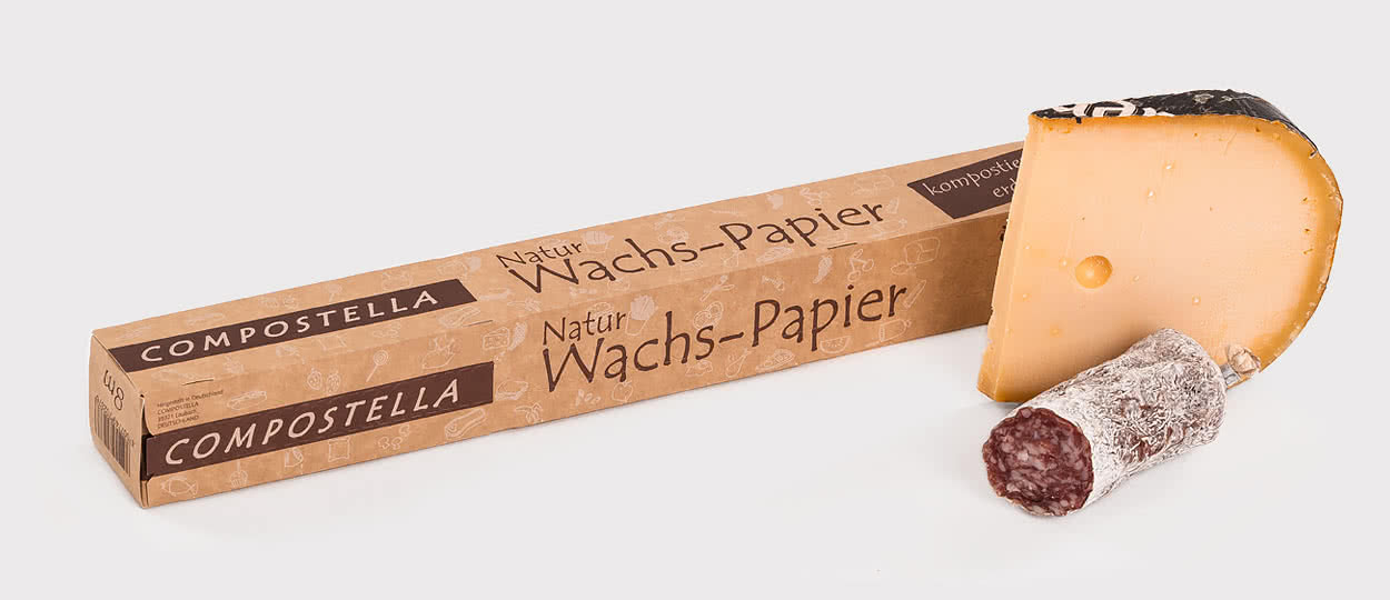 Natural wax paper now also in the household role