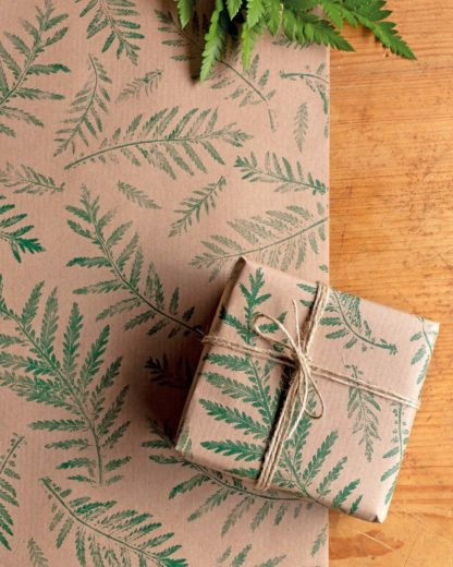 Compostella gift wrap paper