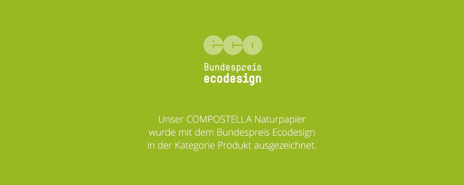 compostella bundespreis ecodesign2018