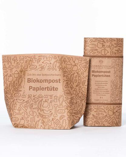Compostella Biokompost Papiertüten