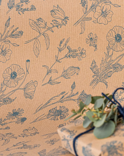 Compostella wrapping paper