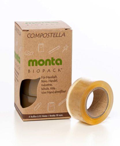 Monta Biopack adhesive tapeMonta Biopack Adhesive Tape, 1,9 cm